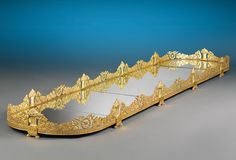 A French Empire-period gilt bronze plateau of exceptional quality and beauty Circa 1810~ M.S. Rau Antiques