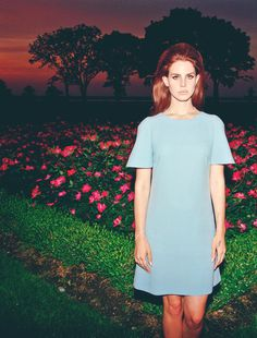 Lana Del Rey by Chuck Grant