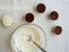 BperBiscotto: *Cupcake al cacao senza burro con frosting allo yogurt - Butter free cocoa cupcakes with yogurt frosting*