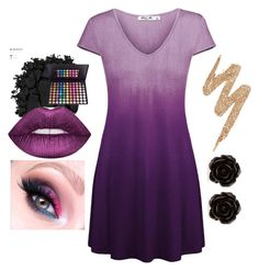 """""""Untitled #201"""" by zelephant ❤ liked on Polyvore featuring Urban Decay and Erica Lyons"""