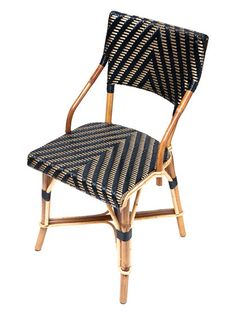 handmade French rattan cafe chair - design your own pattern