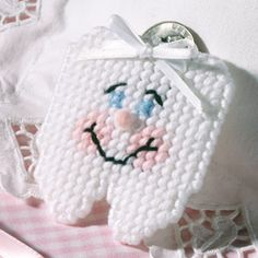 Tooth Fairy Pouch Plastic Canvas ePattern