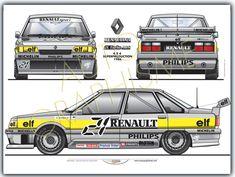 Renault R21 Turbo 4x4 Production 1988