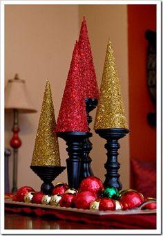 56 Ideas Diy Christmas Table Centerpieces Cheap For 2019 Winter Christmas, All Things Christmas, Christmas Holidays, Christmas Crafts, Christmas Ideas, Merry Christmas, Holiday Ideas, Christmas Table Centerpieces, Tree Centerpieces