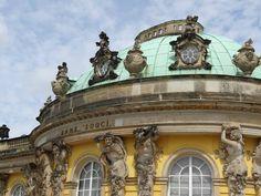 Schloss Sanssouci, Potsdam.