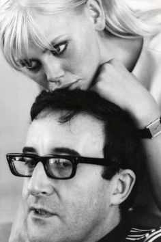 Britt Ekland & Peter Sellers.