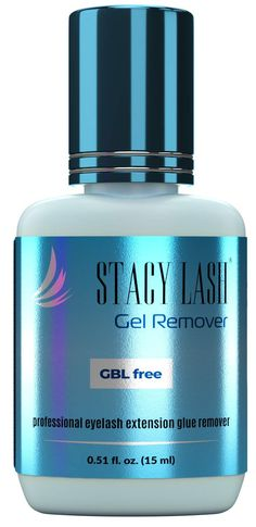 Gel Remover for Eyelash Extension Glue Stacy Lash (0.51 fl.oz / 15 ml) / GBL Free/Fast Lash Adhesive Dissolution time - 60 Seconds/Aquamarine Color and Pleasant Smell Best Makeup Remover, Eyelash Extension Glue, Aquamarine Colour, Eyelash Extensions, Eyelashes, Adhesive, How To Remove, Bottle