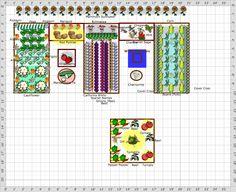 Garden Plan - Tisha's Garden 2012 Spring & Fall