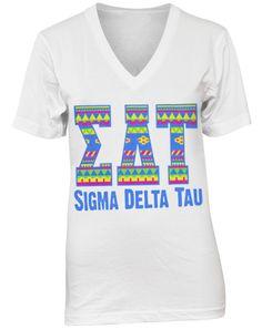Sigma Delta Tau www.adamblockdesign.com | sorority
