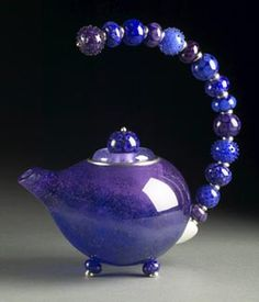Image detail for -... Logan Glass Beads & Jewelry - Portfolio of Art for the Home - Teapots