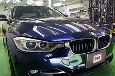 2017/4 BMW・320i PCX-S8 コーティング  他店でコーティング施工後3年ほど経過したお車ですが、いったんリセットしたいとの事...