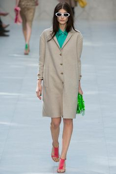 Burberry Prorsum Spring 2014 Ready-to-Wear - Collection - Gallery - Look 1 - Style.com