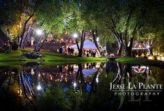 Jesse La Plante Photography | Dunafon Castle wedding at night | Denver Boulder Wedding Photography