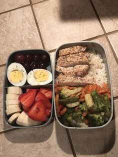 Lunch Meal Prep, Healthy Meal Prep, Healthy Snacks, Healthy Eating, Healthy Recipes, Fitness Meal Prep, Bento Recipes, Lunch Snacks, Lunches
