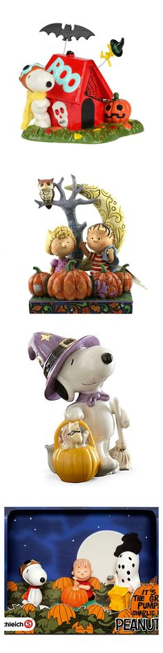 Get a treat for your Peanuts-themed Halloween! Give your home a spooky and cute makeover with figurines and decor from Lenox, Department 56 and Jim Shore. Plus, you'll find lots more videos, books, t-shirts, party supplies, balloons and more for your festivities. Start shopping at CollectPeanuts.com to help support our site.