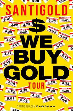 Santigold - 'We Buy Gold' Tour