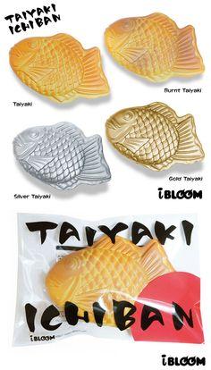 rare Ibloom Jumbo fish Taiyaki squishy ~ pancakes scent!