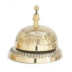 Brass Victorian Hotel Bell Antique Style Store or Shop Attention Service Bell Modern Victorian Bedroom, Victorian Design, Victorian Era, Love Bells, Ring My Bell, Vintage Hotels, Dinner Bell, Ding Dong, Decoration