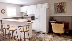 Fiddler's Inn Bed and Breakfast: The Foggy Mountain suite comes complete with a full kitchen!