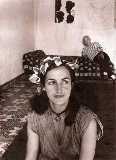 * Françoise Gilot et Pablo Picasso, Vallauris, 1952 - photo Robert Doisneau