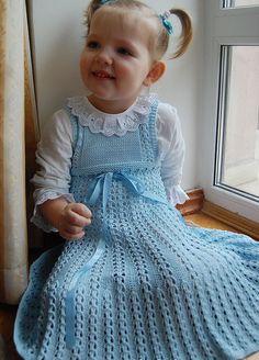 vestido calado de verano para niñas. La discusión sobre la mano de obra Blogs