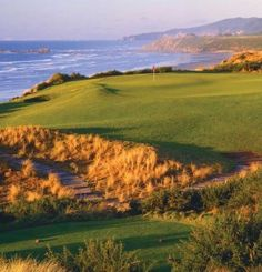 Bandon Dunes Golf course, Oregon First Mainland course to play on cross country golf tour.