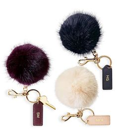 24 Personalized Gift Ideas | Cheer her on and complement her style at the same time with a personalized keychain that stands out from others.