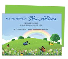 14 best moving announcements new address postcard templates images
