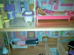 Hmm. Wonder what Ken did to tick Barbie off & get sent to the couch. I'm sure he'll apologize soon...