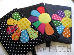 CAPAS DE AGENDA/LIVRO - 063, via Flickr. Obviously not pillows, but I think they'd be really cute as such.