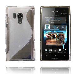 Transparent S-Line (Grå) Sony Xperia Acro S Deksel