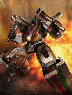 Autobot Wheeljack Artwork From Transformers Legends Game