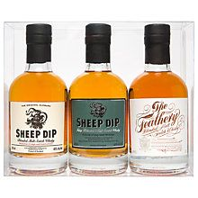 Buy Edinburgh Gin Scotch Whisky, Set of 3, 20cl Online at johnlewis.com