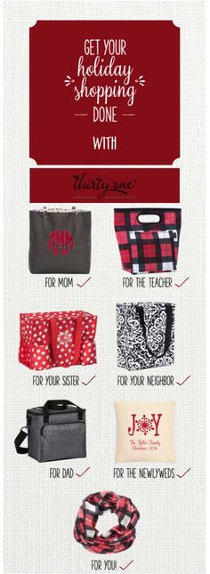 Gifts for everyone  (and yourself too!) Order at www.mythirtyone.com/1799612 #tennessee #gifts #personal