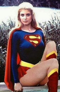 Helen Slater as Supergirl (DC Comics). Supergirl Movie, Supergirl Superman, Batgirl, Batman, Comic Book Characters, Comic Book Heroes, Comic Character, Helen Slater Supergirl, Superman Family