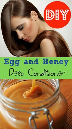 Hair therapy : diy deep conditioner that can be made at home. Works to smooth and strengthen hair, leaves it with a nice shin and healthy look.