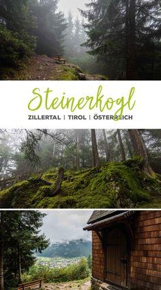 Wanderung zum Berggasthaus Steinerkogl, Zillertal, Mayrhofen, Österreich