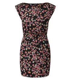 http://www.newlook.com/shop/womens/petite/petite-black-and-neon-pink-floral-print-dress_324078009