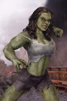 Rachel Weisz is Rule 63 female Hulk.