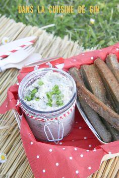 Tartinade graines de tournesol et frites de sarrasin
