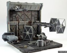 Abandoned TIE Fighter Facility by Unreality86
