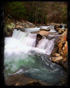 Baby Falls, Tellico River, Tellico Plains, TN
