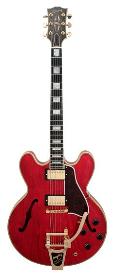 Gibson ES-355 Custom Shop Electric Guitar Antique Cherry with Bigsby