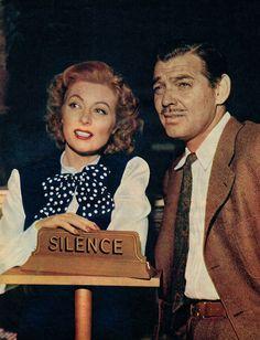 Greer Garson & Clark Gable
