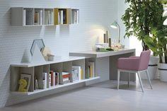 L-shaped Desk, Elle | Novamobili