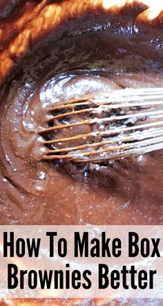 Brownie Mix Recipes - How To Make Box Brownies Better – Boxed brownie mix can be a bit bland made as directed. With the - : Brownie Mix Recipes - How To Make Box Brownies Better – Boxed brownie mix can be a bit bland made as directed. Brownie Mix Desserts, Boxed Brownie Recipes, Brownie Cupcakes, Cookie Brownie Bars, Cake Mix Recipes, Köstliche Desserts, Chocolate Desserts, Delicious Desserts, Cupcake Cakes