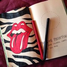 Image about wreck this journal in WTJ📓 by gvb Bullet Journal Lettering Ideas, Bullet Journal Mood, Bullet Journal Aesthetic, Bullet Journal Themes, Mandala Art Therapy, Creative Diary, Create This Book, Art Diary, Wreck This Journal