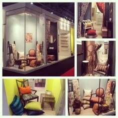"""so excited to do the Fabricut booth again this year at Maison & Objet """