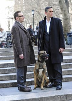Bear ...and the boys of Person of Interest