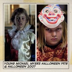 Michael Myers Halloween then and now